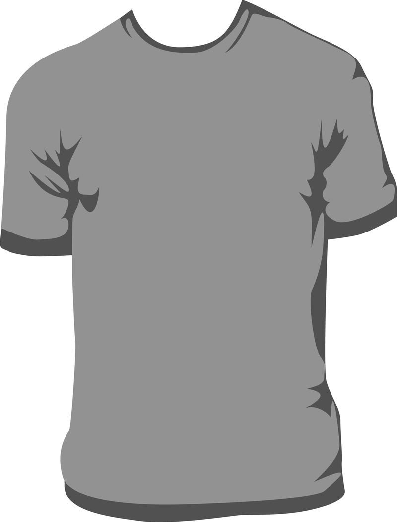 t shirt template vector 2 vector download
