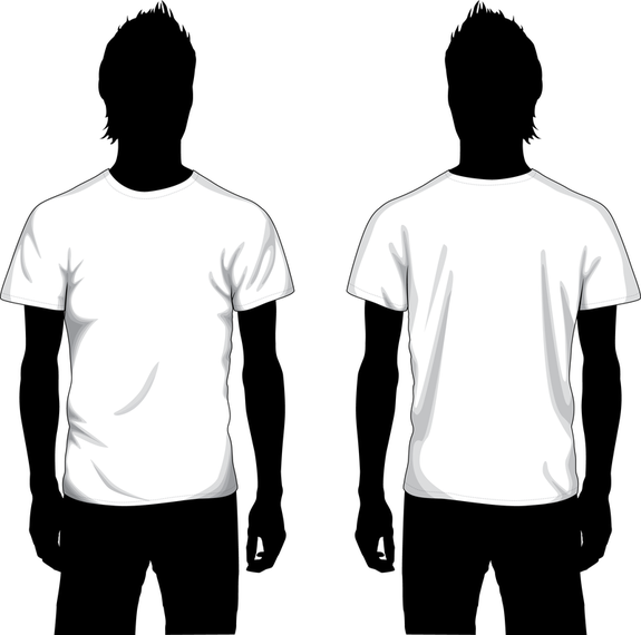 Vector Boy T Shirt Template - Vector download