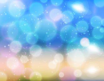 Blurry Bokeh Light Shiny Background