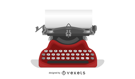 Vector Typewriter