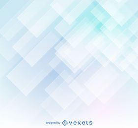 Clear geometric shapes abstract background
