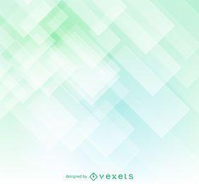 Geométrica suave telón de fondo verde resumen