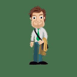 Businessman profession cartoon.svg