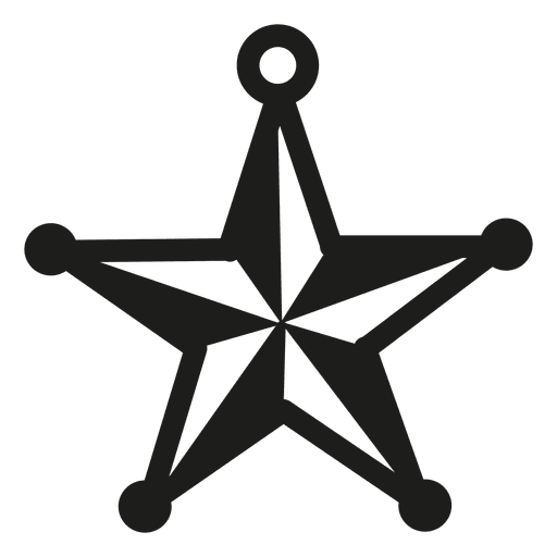 Star bauble christmas icon Transparent PNG