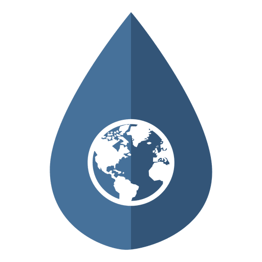 Water day globe icon Transparent PNG