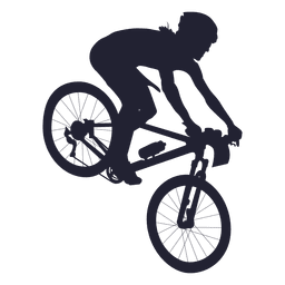 Bmx bicycle sport silhouette