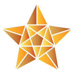 Polygonal star 3d 18