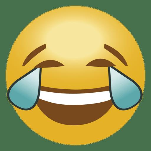 laugh crying emoji emoticon transparent png svg vector