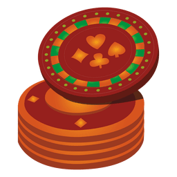 Casino coins icon