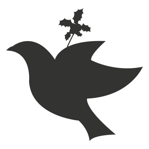 Flying dove christmas icon Transparent PNG