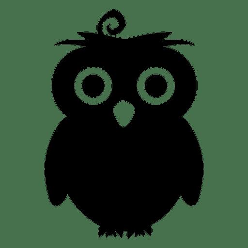 owl silhouette transparent png svg vector rh vexels com Cute Owl Clip Art Owl Outline Clip Art