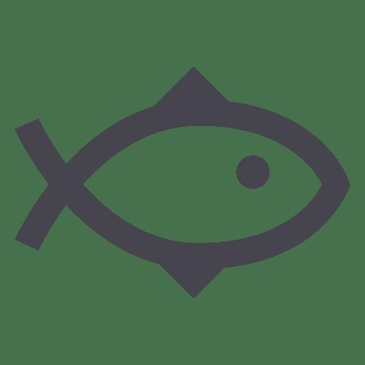Fishing fish animal icon Transparent PNG
