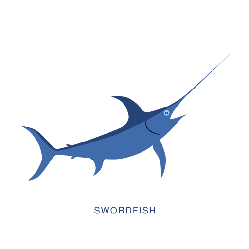Swordfish fish fishing animal Transparent PNG