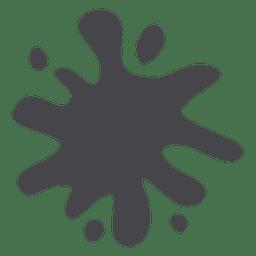 Gray cartoon stain 02
