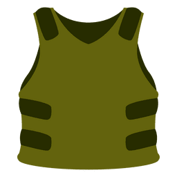 Green protection vest
