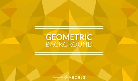 Geometric background with yellow polygonal shapes