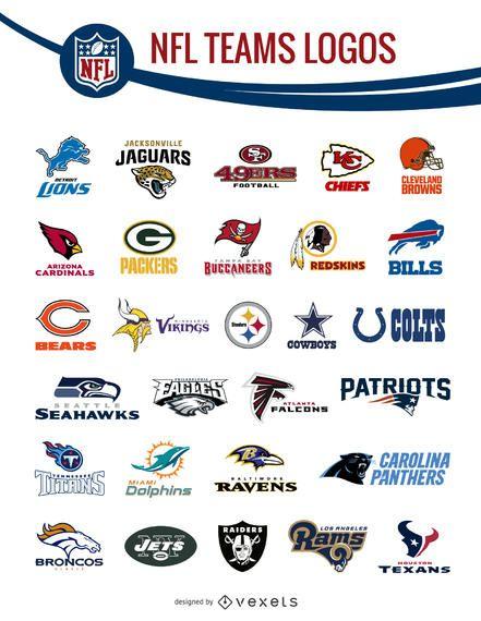 NFL team logos pack