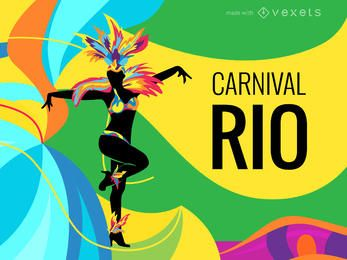 Rio Carnival poster maker