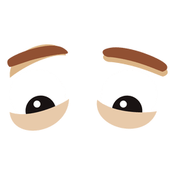 Male eyes expression
