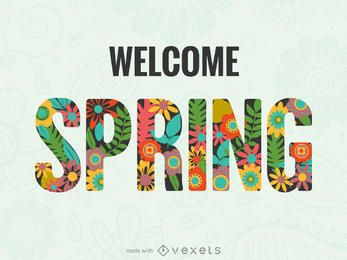 Spring poster maker