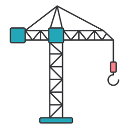 Crane machine hook