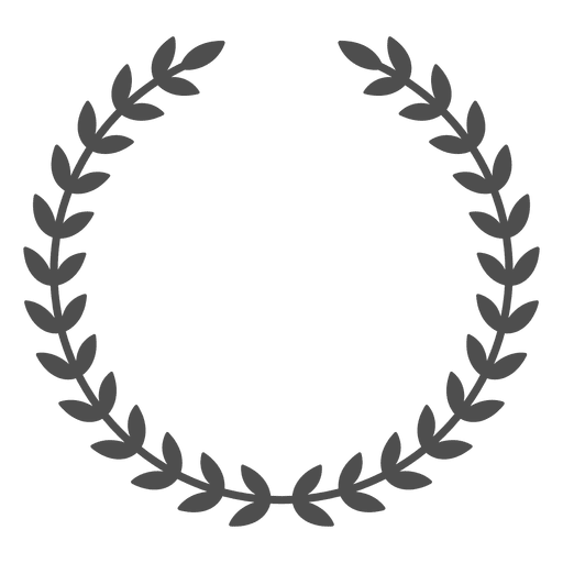 wreath disruption leaves transparent png svg vector