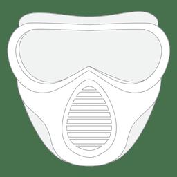 Paintball mask stroke