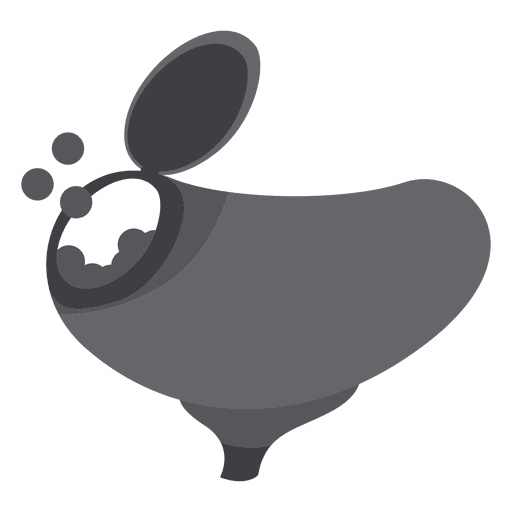 Paintball munition storage silhouette Transparent PNG
