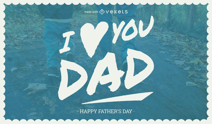 Father's Day card maker
