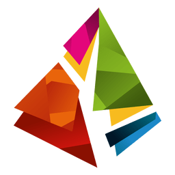 Colorful prism triangles isotype