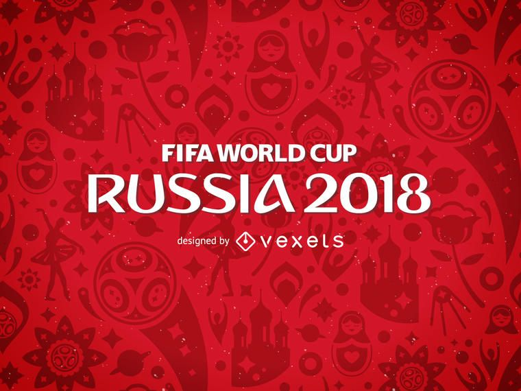 Russia 2018 FIFA World Cup pattern