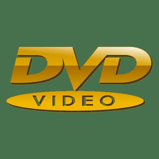 golden dvd logo transparent png svg vector rh vexels com dvd logo png free download dvd logo png white