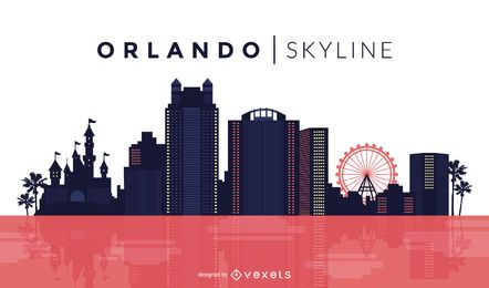 Orlando skyline design