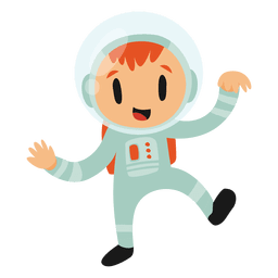 Astronaut cartoon costume