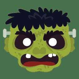 Frankestein green mask