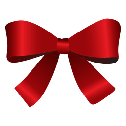 Bow tie red christmas