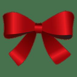 Pajarita roja de Navidad