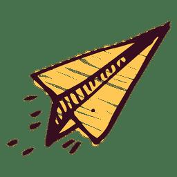 Avión de papel