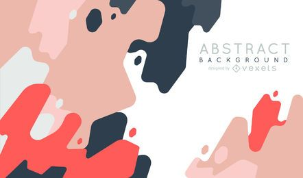 Abstract background with shapes in pastel tones