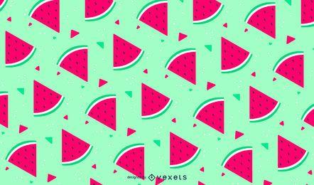 Cute seamless watermelon pattern