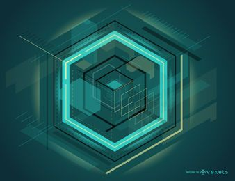 Futuristic abstract design
