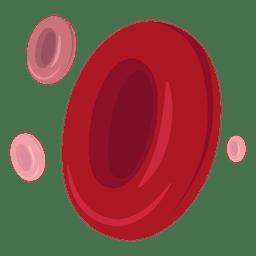 Red blood cells illustration