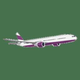 Avión ascendente