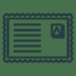 Christmas envelope icon