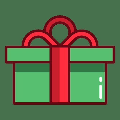 Christmas present Transparent PNG