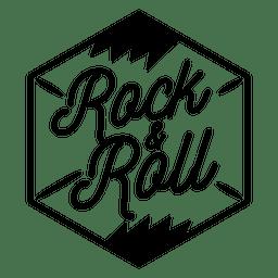 Rock and roll logo rock logo