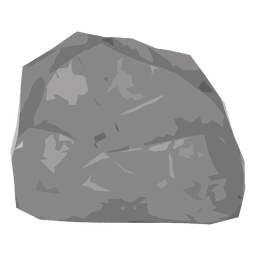 Rock boulder illustration