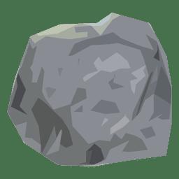 Stone boulder illustration
