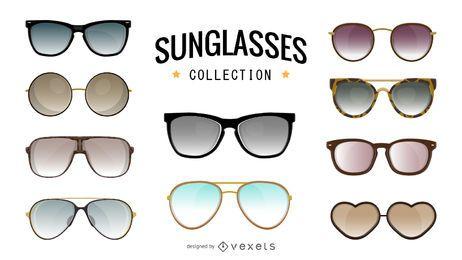 Colección de ilustración de gafas de sol
