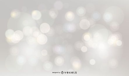 Silver glitter bokeh background